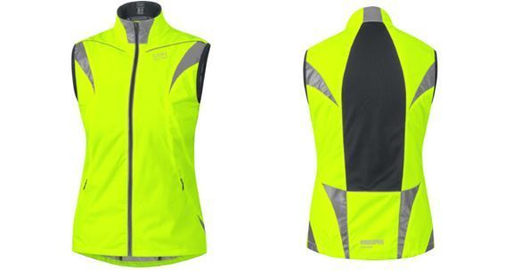 Chaleco Gore Bike Wear Visibility Windstopper Active Shell